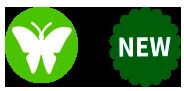 icono mariposa - icono NEW